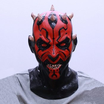 Star Wars Darth Maul Mask with Collector's -