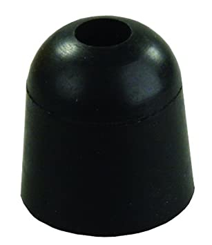 JR Products 11745 Black 1inch Rubber Bumper