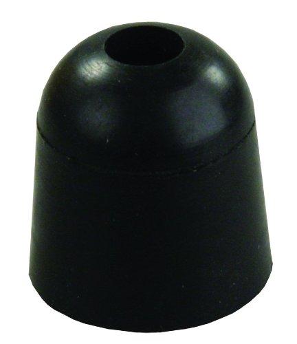 - JR Products 11745 Black 1inch Rubber Bumper