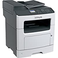 Lexmark MX310DN Laser Multifunction Printer - Monochrome - Plain Paper Print - Desktop - Copier/Fax/Printer/Scanner - 35 ppm Mono Print - 1200 x 1200 dpi Print - 35 cpm Mono Copy LCD - 1200 dpi Optical Scan - Automatic Duplex Print - 300 sheets Input - Fast Ethernet - USB - 35S3389