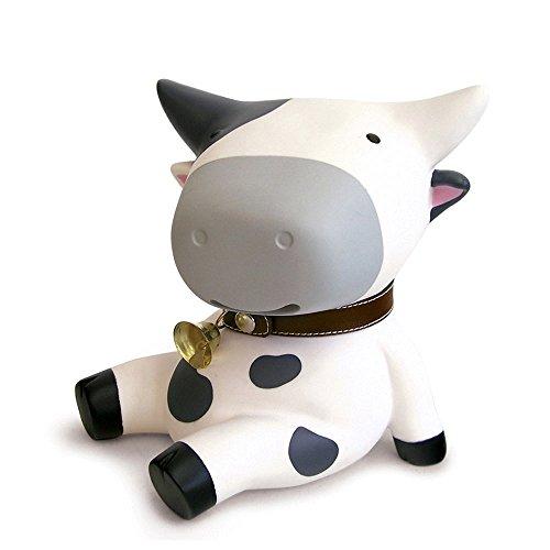 Baidecor Cute Dairy Cow Money Box Piggy Bank (Cow Bank)