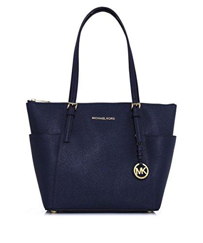Michael Kors Navy Handbag - 9