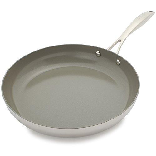 Sur La Table Cookware (Sur La Table GreenPan Diamond Clad Ceramic Nonstick Skillet CW001991-002 , 12