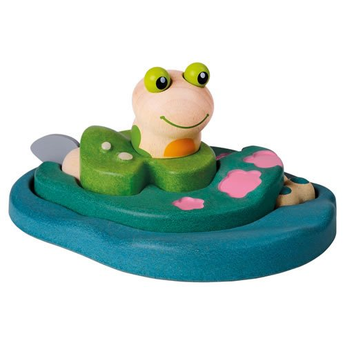 Plan Toys Frog Life Puzzle ()