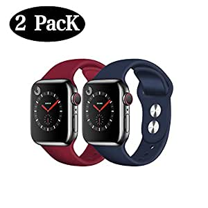 Amazon.com: Compatible Apple Watch Band 38mm 42mm 40mm