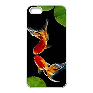 Fashion Design Custom Phone Case for Iphone 5,5S - Goldfish DIY Cover Case JZQ901943