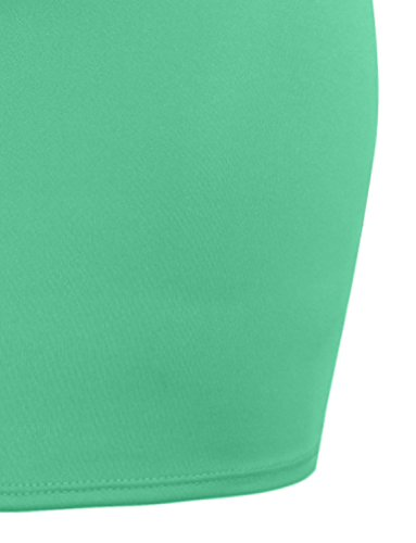 NE PEOPLE Women's Stretch Knit Bodycon Mini Pencil Skirt Made In USA by NE PEOPLE (Image #3)
