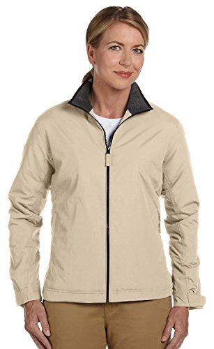 Devon And Jones Classic Jacket (Devon & Jones Womens Three-Season Classic Jacket (D700W) -Stone -XL)
