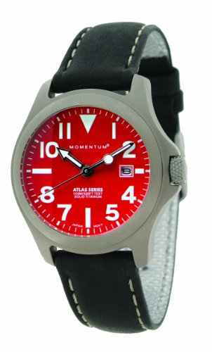 Momentum Women's 1M-SP01R2B Atlas Classic Analog with Titanium dial Watch