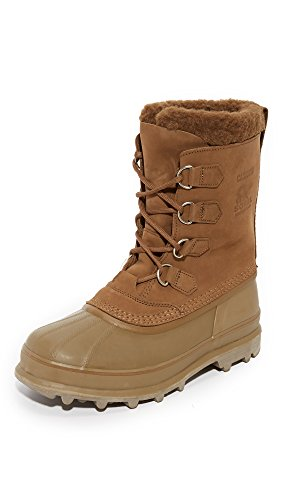 SOREL Men's Caribou? Grill/Dark Ginger Autumn Bronze
