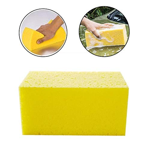 benefit-X Car Cleaning Sponge High Density Foam Holds Plenty of Car Washing Solution Car Wash Sponge Artifact for Auto, Truck, SUV, RV, Home, Boat Cleaning Washing Sponge Pad