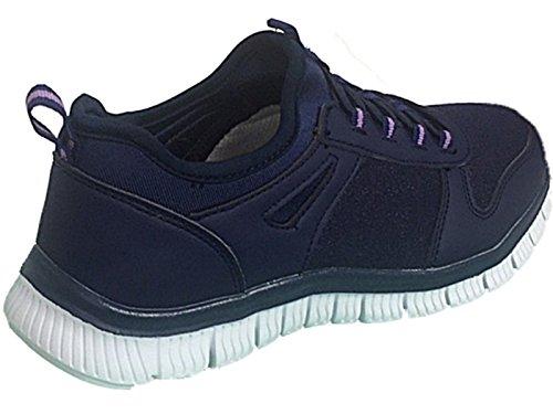 In Maglia Donne 109 Leggeri Navy Con Grigio 816 Esecuzione Ginnastica Calzature Scarpe Comfort La Lacci Da Casual Sport Galoppo Blu 6FnCqSXSw