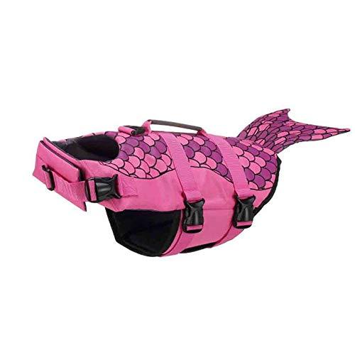 Pet Swimwear Life Jacket Pet Swimwear Puppy Dog Swimsuit Pet Dog Life Swimming Jacket Shark Float Vest Buoyancy Aid Vest Costume