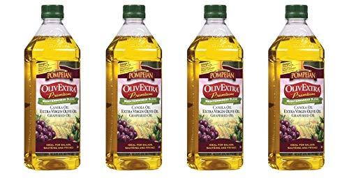 Pompeian OlivExtra Premium Mediterranean Blend 24 oz (Pack of 4)