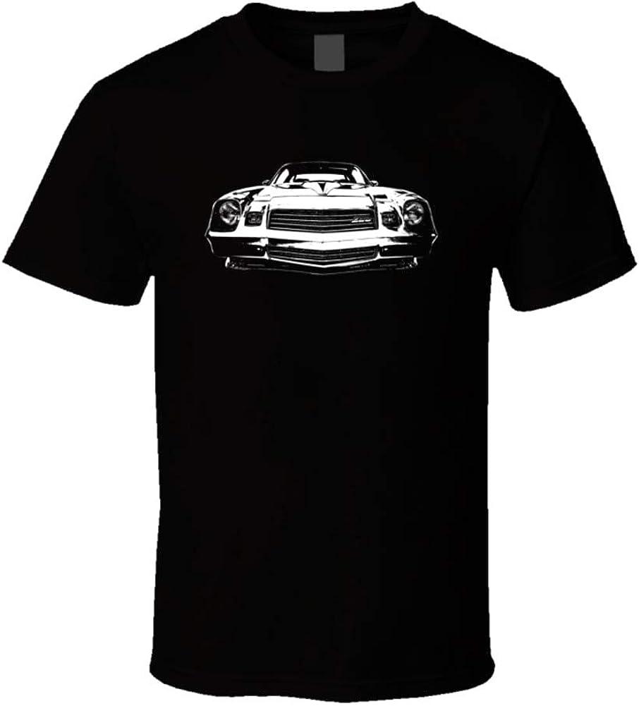 CarGeekTees.com 1980 Camaro Z28 Grill View Dark Color T Shirt