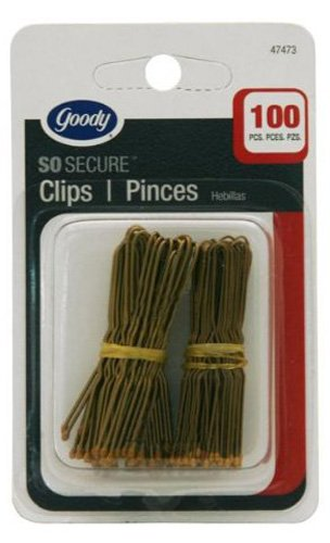 Price comparison product image Goody Hair Pins, Brown, 100 Count