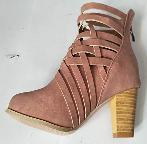 a87bdff7ea549 Amazon.com: JingZhou Cut Outs Zapatos Mujer 2018 Shoes Woman Spring ...