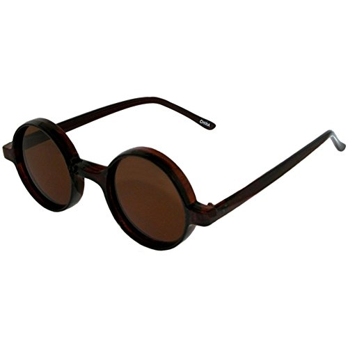 Poindexter Sunglasses with Colored Lenses In Brown with Brown - Sunglasses Stunna