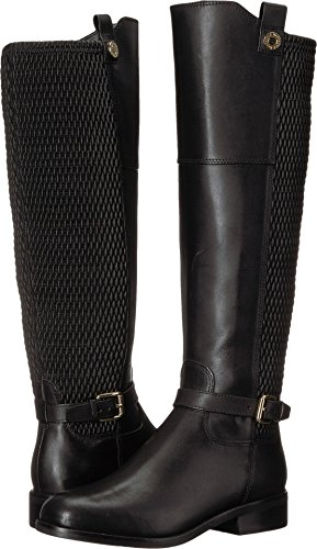Cole Haan Women's Galina Boot, Black Leather, 6.5 B US (Ladies Heel Boots)