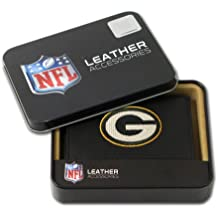 NFL Embroidered Leather Trifold Wallets