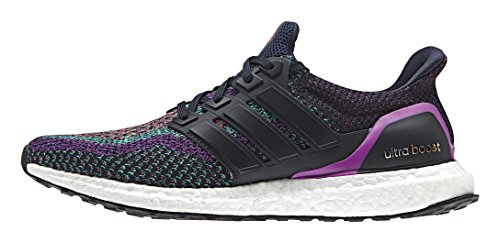 Adidas BB3908 Herren Ultra Boost Laufschuhe, Navy / Navy Nacht / Shock Purple Navy / Navy Nacht / Shock Purple