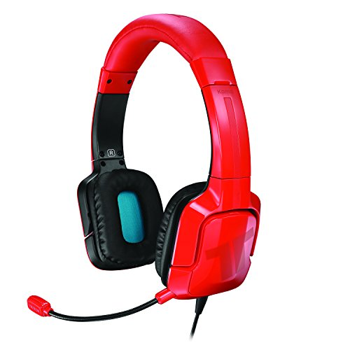 TRITTON Kama Stereo Headset for PlayStation 4, PS Vita, and Mobile Devices - Red