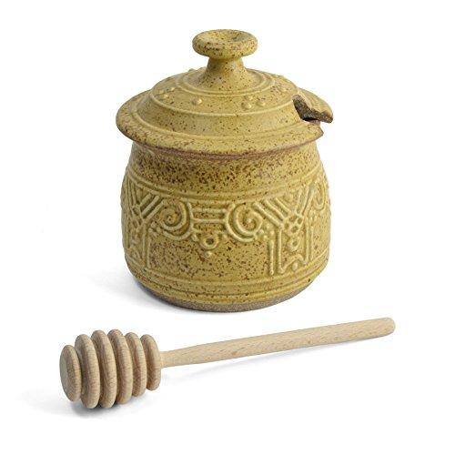 - The Potters, LTD Honey Pot, Spicy Mustard