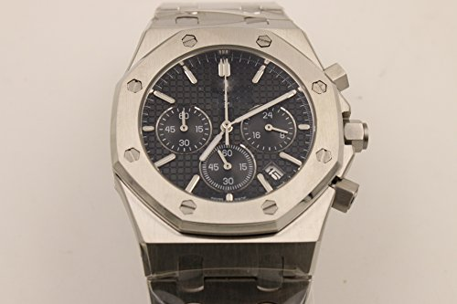 Luxury Brand Top quality stainless steel Japanese quartz chronograph watch watches