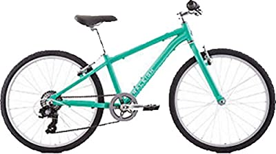 Raleigh Bikes Alysa 24 Kids Flat Bar Road Bike Girls Youth 8-12 Years Old, Teal