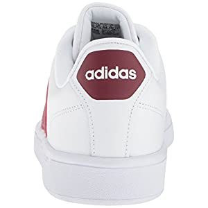 adidas Men's Swift Run Shoes CF Advantage,white/collegiate burgundy/core black,8.5 M US