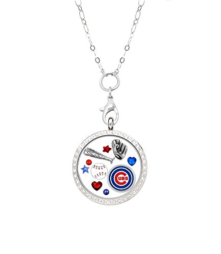 Chicago Cubs Floating Locket with 32
