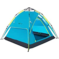 Sowin Automatic Pop Up Family Camping Tent 3-4 Person...