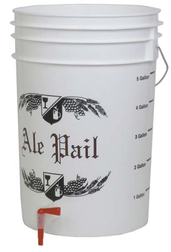 Midwest Homebrewing and Winemaking Supplies 6994 Drilled Bottling Bucket, No Spigot
