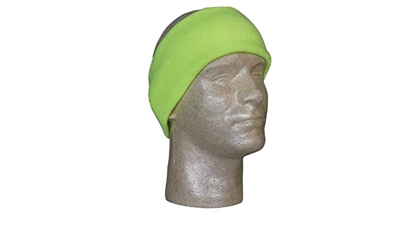 Acrylic Safety Yellow Fox Outdoor 72-281 Headband