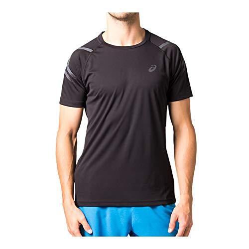 列車瞑想するソロ[アシックス] ランニングウエア ランニング半袖シャツ [メンズ] 154662 パフォーマンスブラック 日本 L (日本サイズL相当)