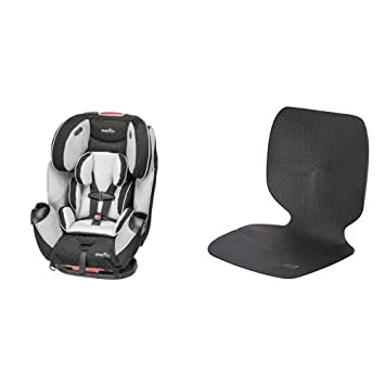 Evenflo Symphony LX Car Seat Crete With Undermat Protector