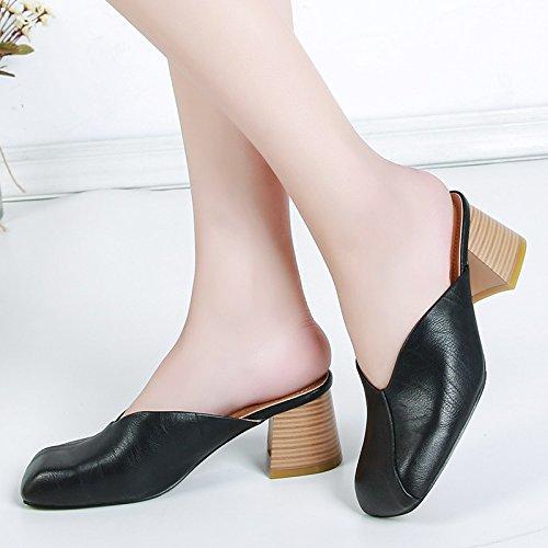 Des Une Des Chaussures Correspond Fashion Female Femmes À Chaussure Pour Baotou La Forty KHSKX Femmes Avec Nouvelle fdOqxn7