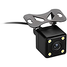 Rear Camera 720P Back Camera 120 Degrees Wide Angle Lens Loop Recording Night Vision 6 Meters Long Fit for All Cars