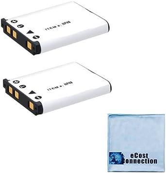 Cámara de batería cargador Micro USB para olympus x940 vg110//vg-110 li-70b