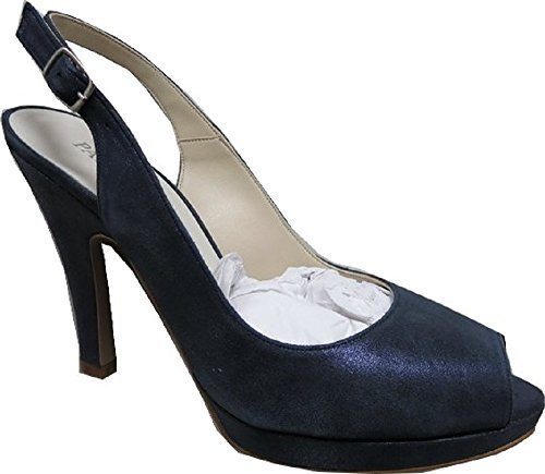 Patrizia Dini Pumps - Zapatos de vestir de cuero para mujer azul - azul