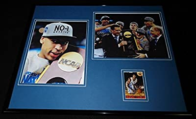 Anthony Davis Signed Framed 16x20 Photo Display JSA Kentucky National Champs