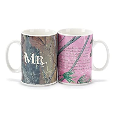 Mr. and Mrs. Mug Set - Camouflage/Truth Hunter(TM)