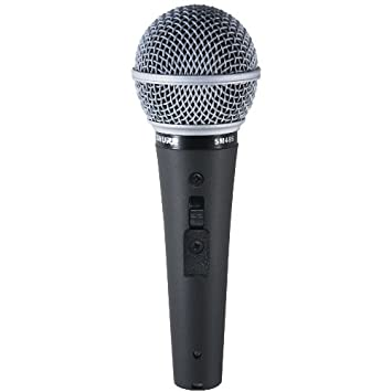 Shure SM48-LC Vocal Dynamic Microphone, Cardioid Shure Incorporated