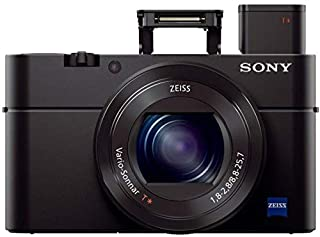 Sony RX100 III 20.1 MP Premium Compact Digital Camera w/1-inch Sensor and 24-70mm F1.8-2.8 ZEISS Zoom Lens (DSCRX100M3/B) (B00K7O2DJU) | Amazon price tracker / tracking, Amazon price history charts, Amazon price watches, Amazon price drop alerts