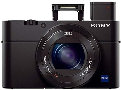 Sony DSC-RX100M3 Cybershot 20.1MP Point & Shoot Digital Camera with Bag (Black)