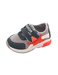 Freshzone Unisex Baby Sport Running Shoes Star Mesh LED Luminous Shoes For All Season
