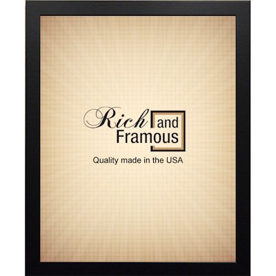 Professionally Framed Cheech and Chong Pot Leaves Movie Poster Print - 24x36 with RichAndFramous Black Wood Frame