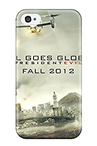 Tpu Case Cover Compatible For Iphone 4/4s/ Hot Case/ Resident Evil Retribution 2012
