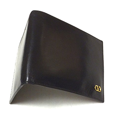 Valentino Men's Genuine Black (Nero) Leather Wallet for sale  Delivered anywhere in USA