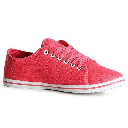 Topschuhe24 Topschuhe24 Donna Pink Donna Sneaker Sneaker Pink 6xtTq7